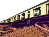 Chocolate Train ~ indulge yourself!