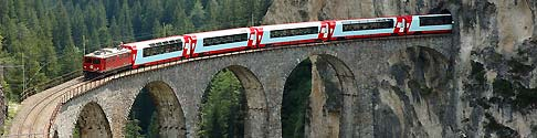 The Grand Train Tour of Switzerland :: 8 Days — 2nd Class