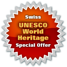 Enjoy free guides & discounts in Switzerland's 11 UNESCO World Heritage sites with a Swiss Travel Pass or Travel Pass Flex!